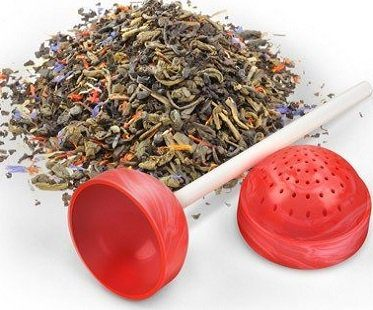 lollipop tea infuser loose tea