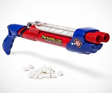 marshmallow shooter gun red blue