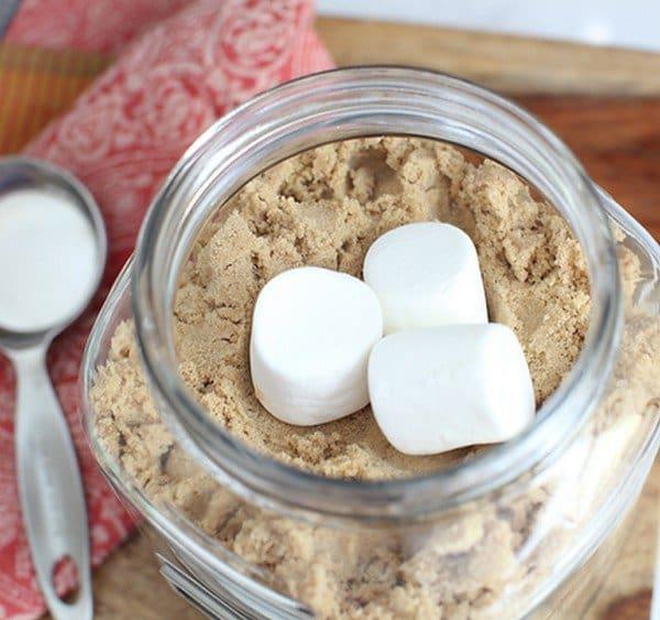 marshmallows brown sugar