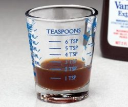 measuring cup shot glass