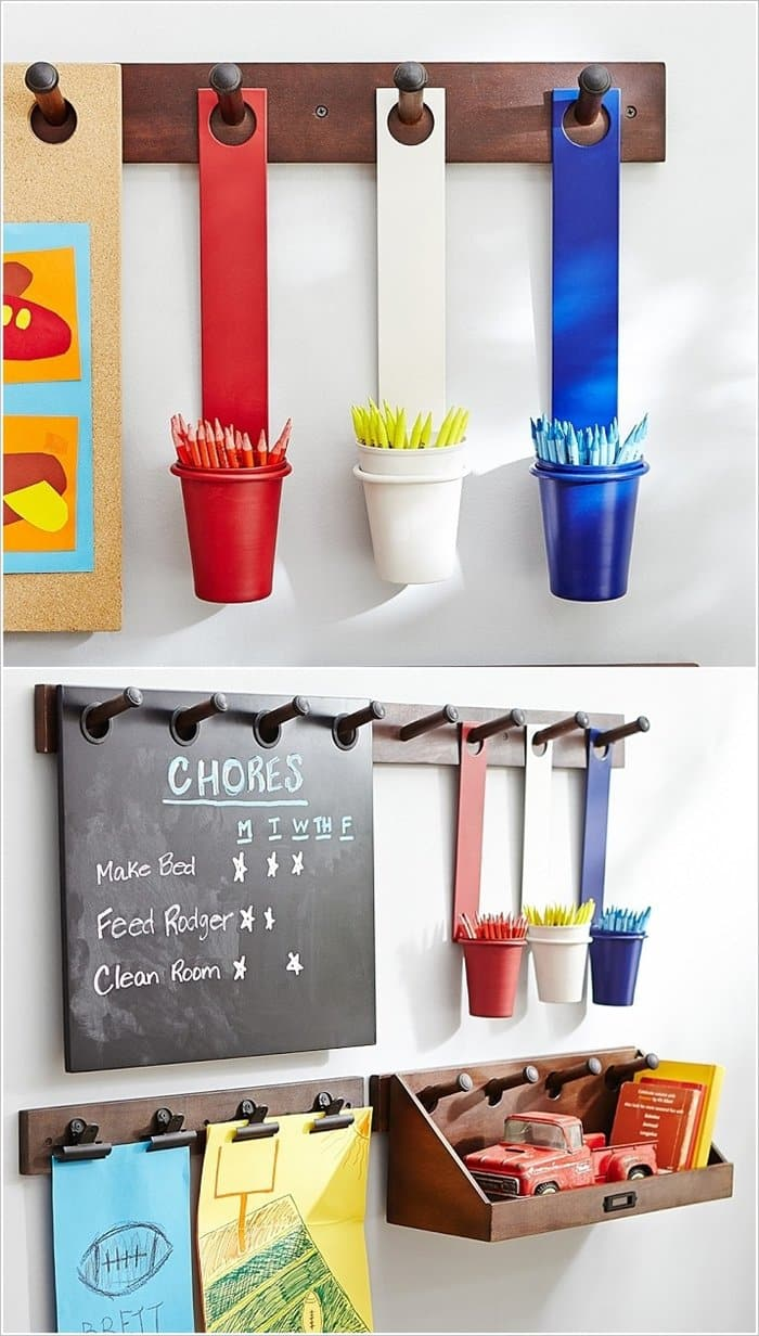 15 Amazing Organization Ideas For Kids