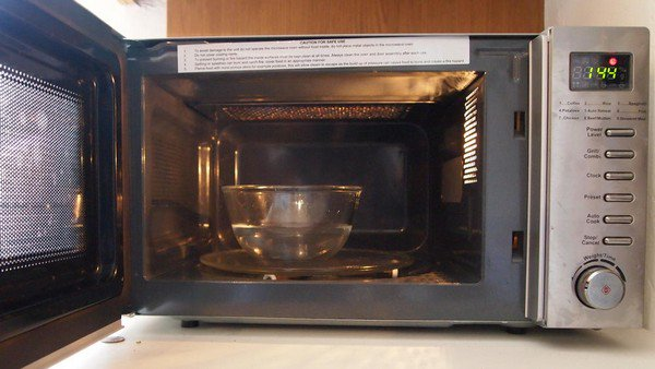 microwave water bowl