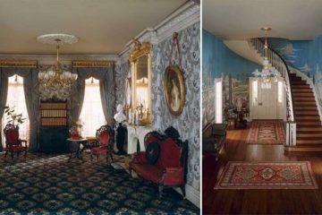 miniature historic rooms