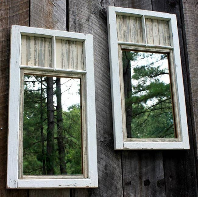 mirrors-garden-fence