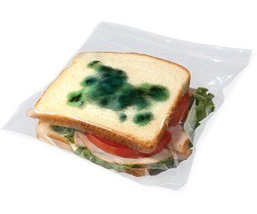 moldy sandwich bags anti theft