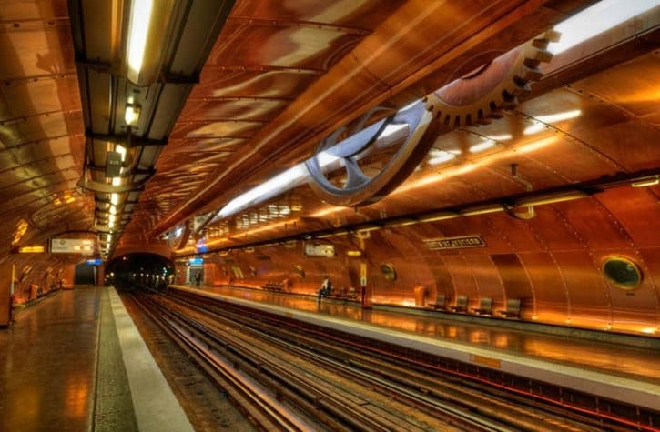 most-beautiful-subway-stations-arts-et-metiers