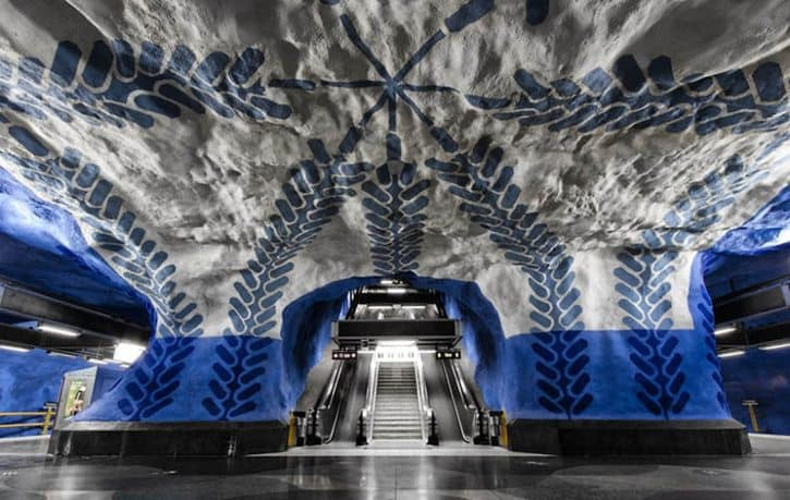 most-beautiful-subway-stations-t-centralen