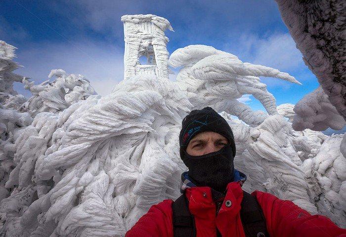 mount-javornik-slovenia-winter-man