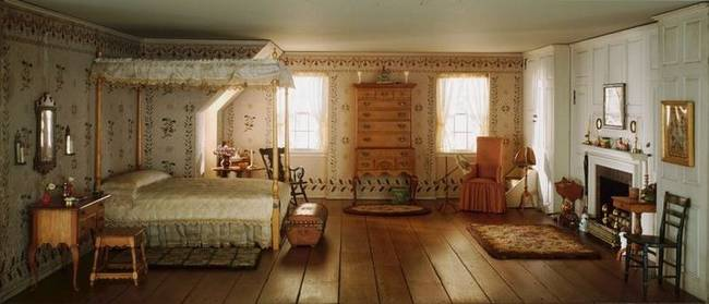 What Look Like Real Historic Rooms Are Actually Something