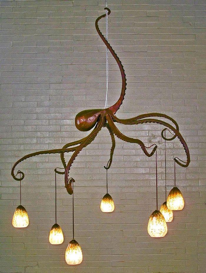 octopus-chandelier