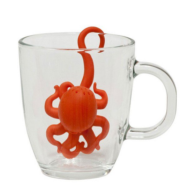 Make the best cup of tea ever with these 18 amazing tea infusers - Octopus tea infuser ...