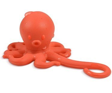 octopus tea infuser orange