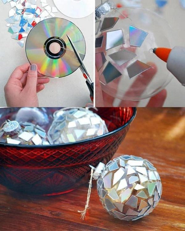 old-cd-ornament