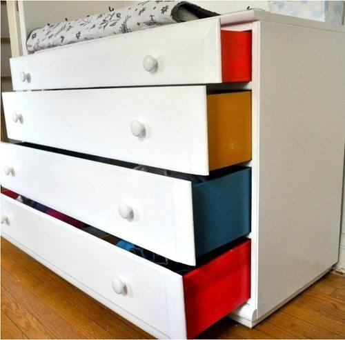 paint dresser sides kids room