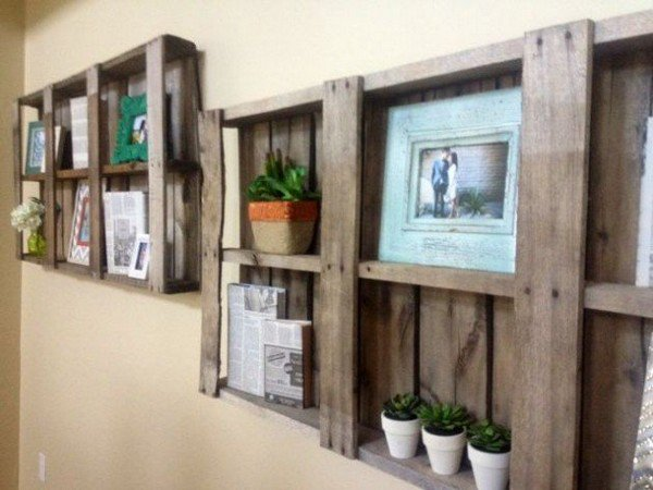 16 Creative DIY Storage Ideas For Pallets
