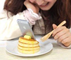 pancake smartphone stand