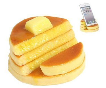 pancake smartphone stand front