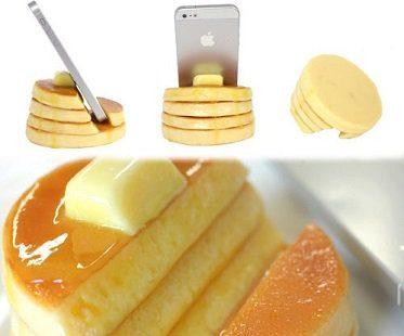pancake smartphone stand side