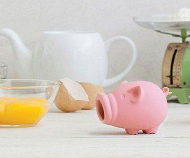 pig egg separator pink