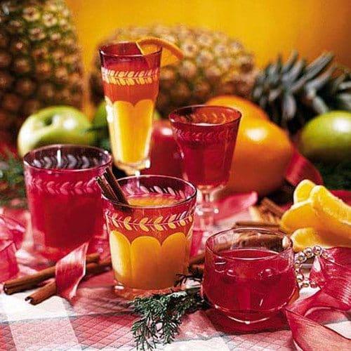pineapple wassail drink