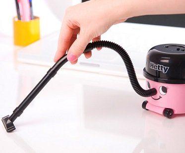pink desktop hoover