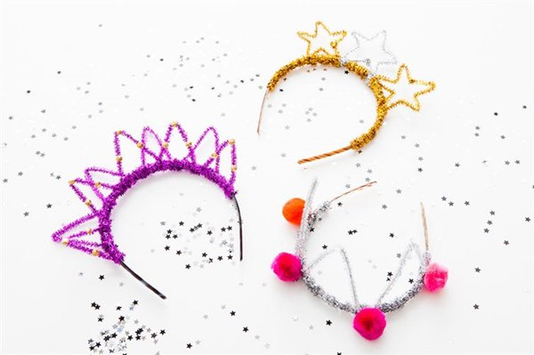 pipe-cleaner-crowns