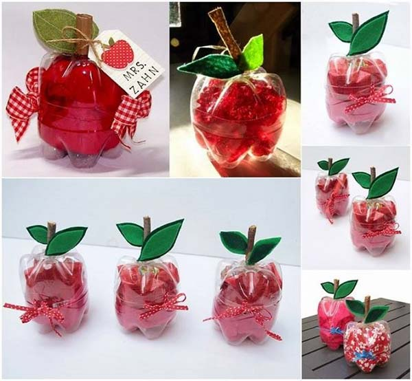 plastic-bottle-apple-crafts