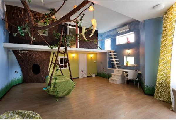 playroom-hanging-bed