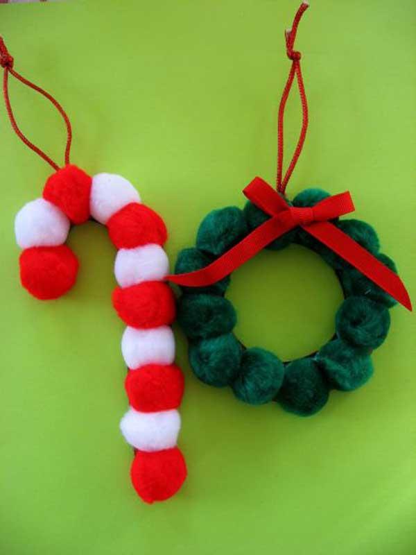 pompom-ornaments