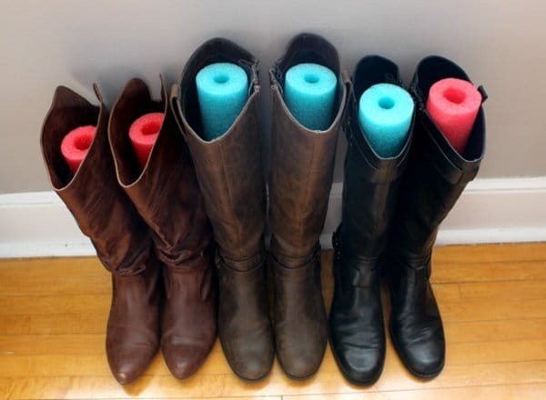 pool-noodle-winter-boots
