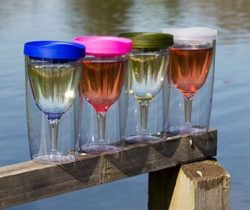 portable wine cup