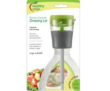 portion control dressing lid pack