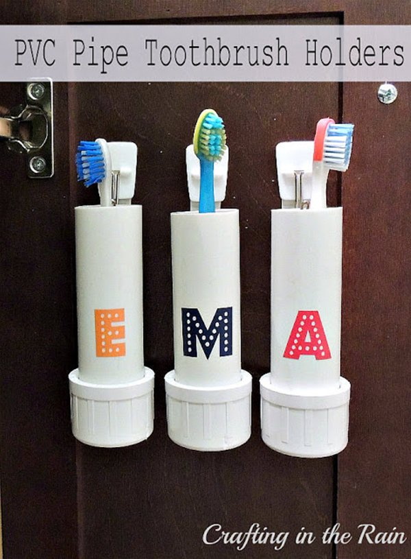 pvc-pipe-toothbrush-holders