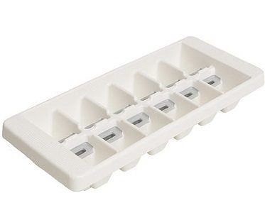 quick snap ice tray white