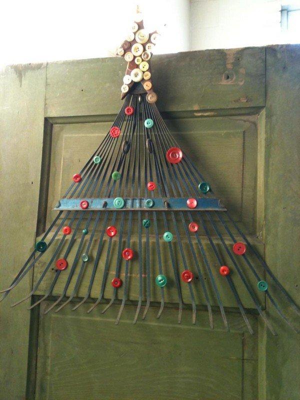 rake button tree