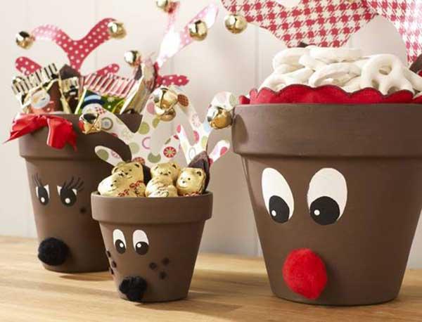 reindeer-pots