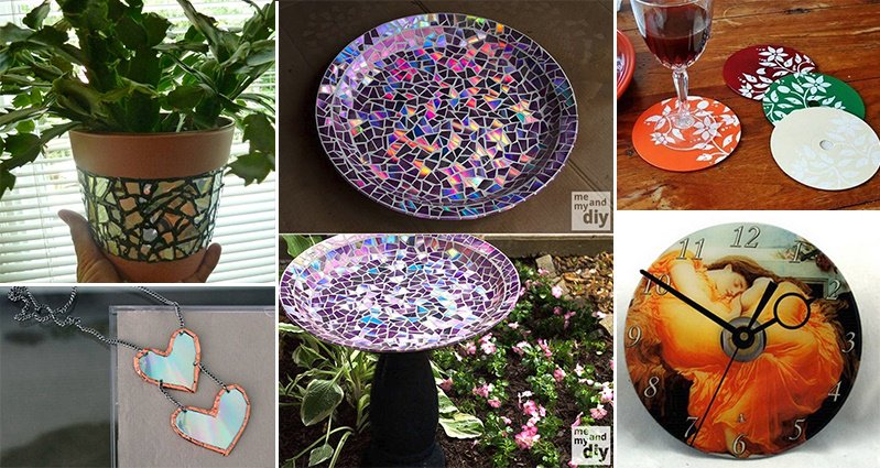 12 Awesome Crafts You Can Make With Old Cds