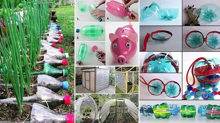 17 creative ways to reuse plastic bottles for Creative use of waste plastic bottles