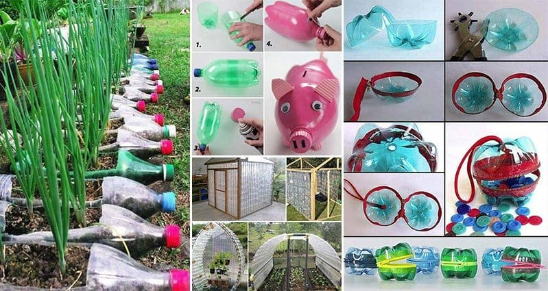 17 Creative Ways To Reuse Plastic Bottles