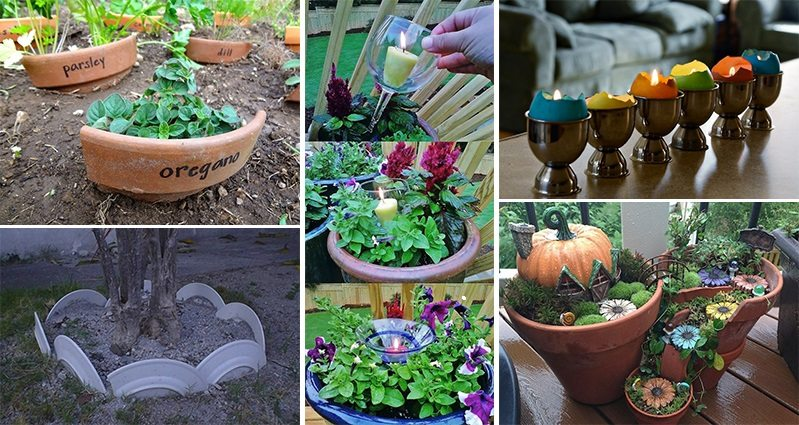 20 creative ways to reuse old or broken things around your for Recycle old things