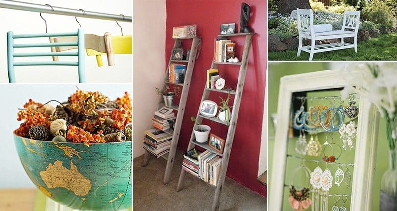 15 Creative Ways To Reuse Old Or