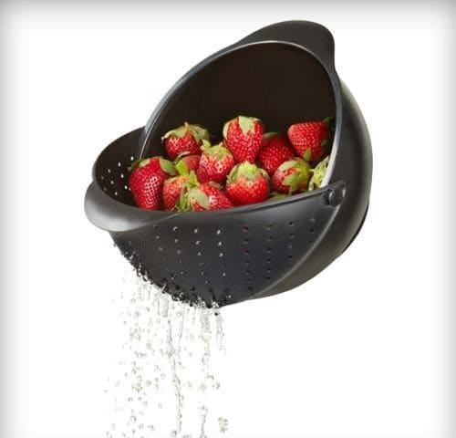 rinse bowl strainer
