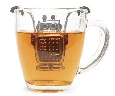 robot tea infuser tea