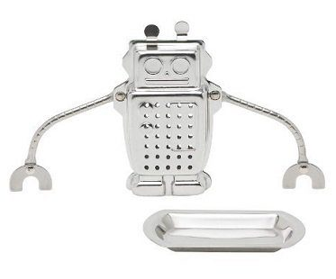 robot tea infuser tray