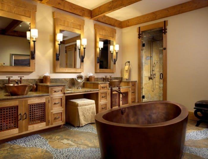 rustic-bathroom-door