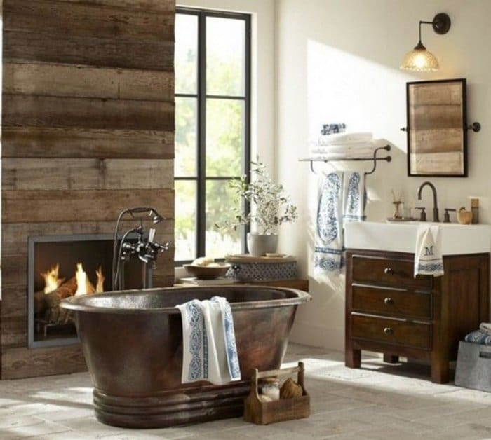rustic-bathroom-fire