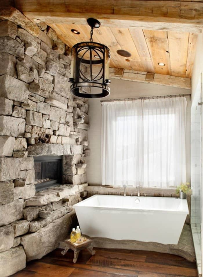 12 Bathrooms with Shower of Vintage Style