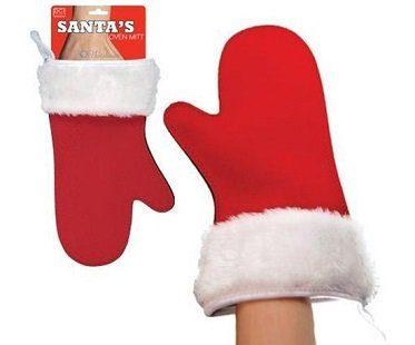 santa's glove oven mitt pack