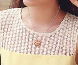 scented cookie necklace