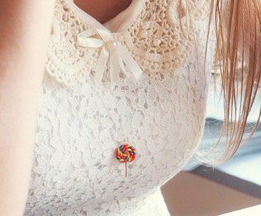 scented lollipop necklace